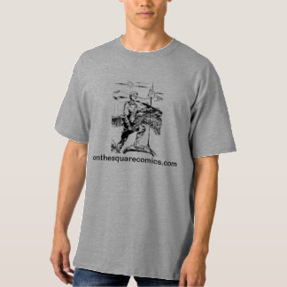 On the Square Comics t-shirt