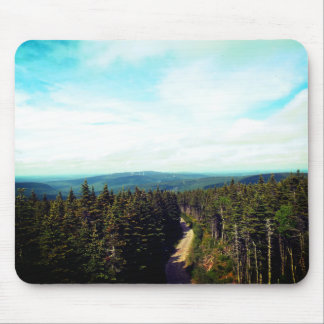 On the Top of The Mountain Mouse Pad
