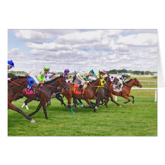 On the Turf Card