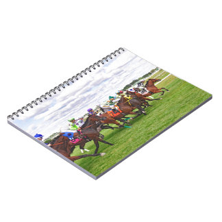 On the Turf Spiral Notebook