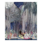 On the Way to the Dance by Kay Nielsen Poster