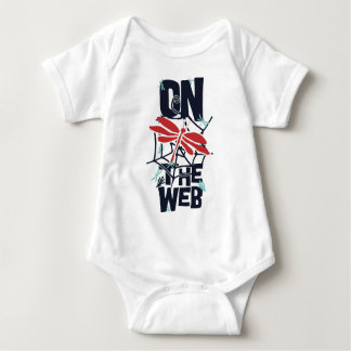 On The Web Baby Bodysuit