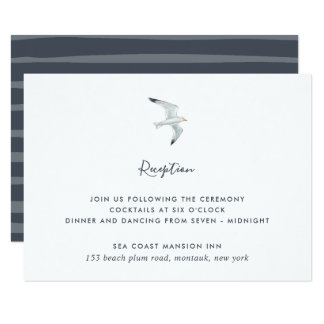 On the Wing Reception Enclosure Card