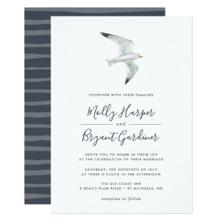 On the Wing | Wedding Invitation