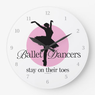 On Their Toes (Ballet) Clocks