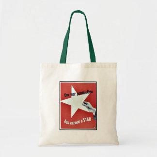 On War Production Has Earned A Star Bag