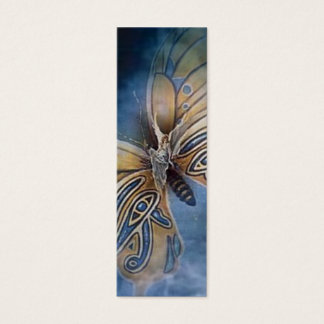 On Wings of a Butterfly Bookmarker Mini Business Card