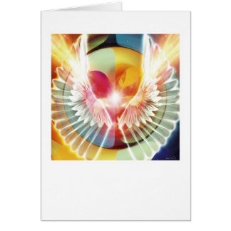On Wings of Light Greeting Card