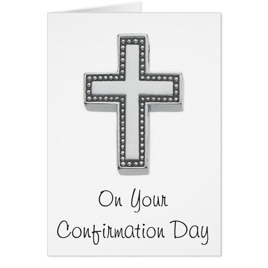 On Your Confirmation Day Card