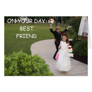 ON YOUR DAY BEST FRIEND GREETING CARD