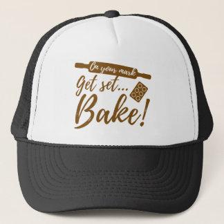 On Your Mark Trucker Hat
