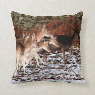 On your marks (deer) cushion