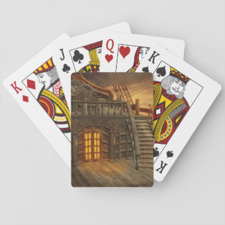 Onboard Pirate Ship Playing Cards