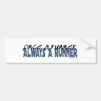 Once a Runner Bumper Sticker