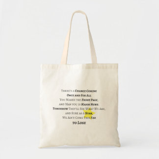Once and For All Tote Bag