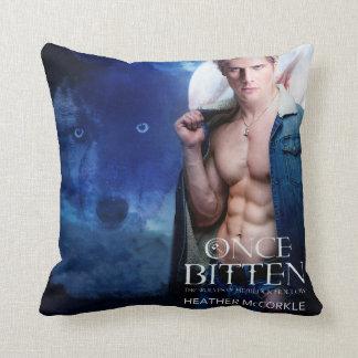 Once Bitten Cover Pillow