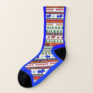 Once in a Blue Moose and Friends - Socks 1