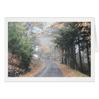 """""""Once It Was Fall"""" Greeting Card"""