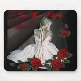 Once Upon A Bride Mouse Pad