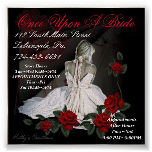 Once Upon A Bride Poster