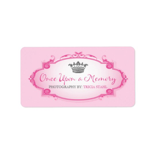 Once Upon a Memory   Custom Address Label