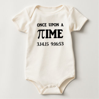 Once Upon A PI Baby Bodysuit