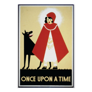 Once Upon a Time 1930s Poster