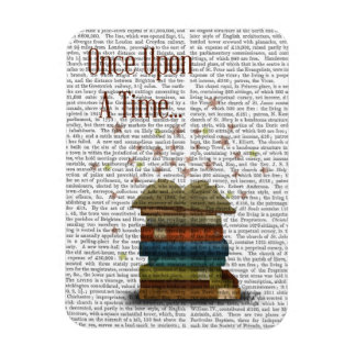 Once Upon A Time Books Rectangular Photo Magnet