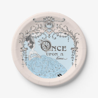 Once Upon a Time Cinderella Paper Plate