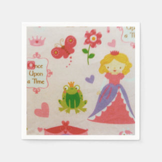 """""""Once Upon A Time"""" Cocktail Paper Napkins"""