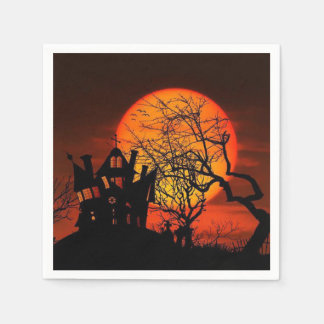 Once Upon A Time Halloween Party Paper Napkins