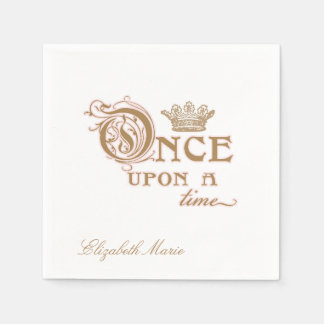 Once Upon a Time Princess Napkin Paper Napkin