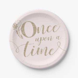 Once Upon A Time Princess Paper Plates