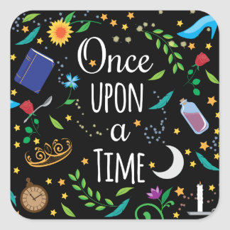 Once Upon a Time Square Sticker
