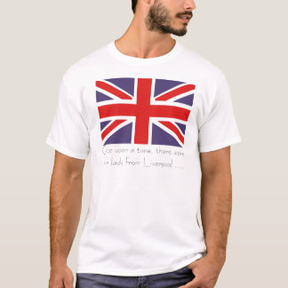 Once upon a time, there were four lads...... T-Shirt