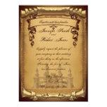 Once Upon a Time Wedding Invitation 13 Cm X 18 Cm Invitation Card