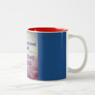 once you become fearless Two-Tone mug
