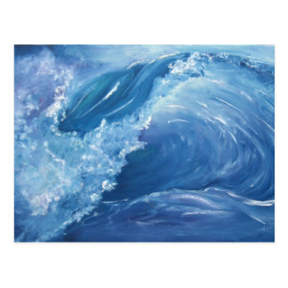 ONDA -WAVE POSTCARD