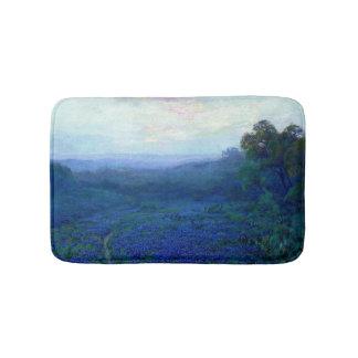 Onderdonk - Path through a Field of Bluebonnets Bath Mats