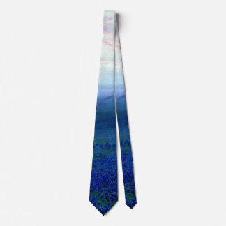 Onderdonk - Path through a Field of Bluebonnets Tie