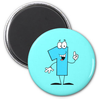 One 6 Cm Round Magnet