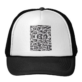 One Abstract Design Cap