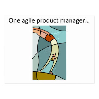 One Agile Product Manager... Postcard