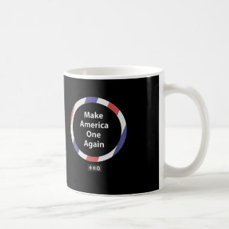 One America Red White And Blue Patriotic Coffee Mug