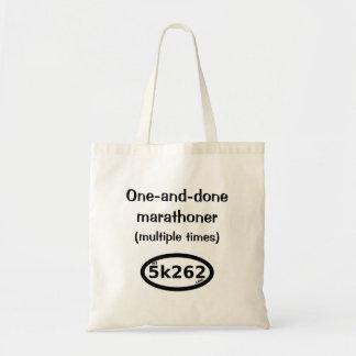 One-and-done full marathoner (multiple times)