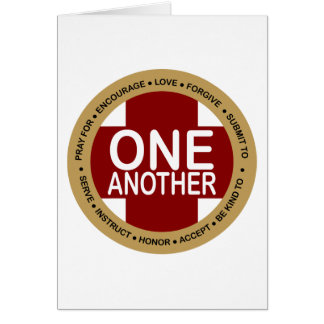 One Another Pastor Appreciation Card