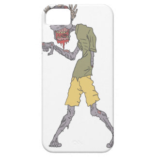 One Arm Creepy Zombie With Rotting Flesh Outlined Barely There iPhone 5 Case