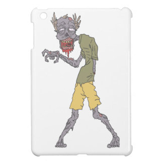 One Arm Creepy Zombie With Rotting Flesh Outlined iPad Mini Case