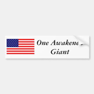 One Awakened Giant Bumper Sticker