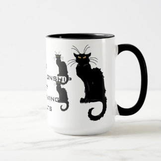 One bad relationship away from having 30 cats mug